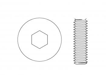 六角孔 機械牙