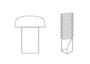 PAN頭 鑽尾螺絲