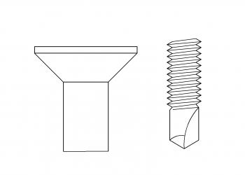 皿頭 鑽尾螺絲